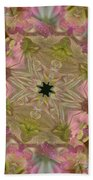 Wedding Bell Pink Daisies Beach Towel