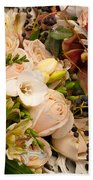 Wedding Bouquets 01 Beach Towel
