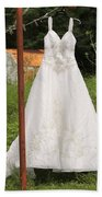 Wedding Dress  Beach Towel