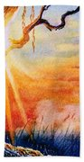 Weeping Willow Sighs Beach Towel