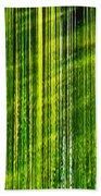 Weeping Willow Tree Ribbons Beach Towel