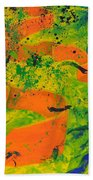 Weighted Motion Beach Towel
