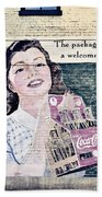 Welcome At Home Beach Towel