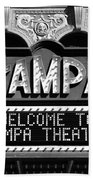 Welcome Tampa Beach Towel