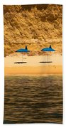 Welcome To Paradise Beach Towel