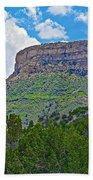 Welcoming Mesa To Mesa Verde National Park-colorado- Beach Towel