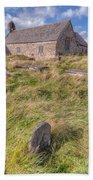 Welsh Tombs Beach Towel