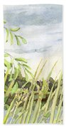 West Bay Napanee River Beach Towel