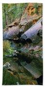 West Branch Oak Creek Beach Towel