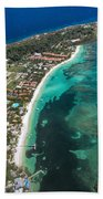 West End Roatan Honduras Beach Towel