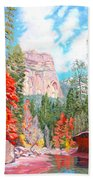 West Fork - Sedona Beach Towel