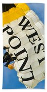West Point Sky Diver Beach Towel
