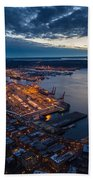 West Seattle Water Taxi Beach Towel