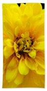 West Virginia Marigold Beach Towel