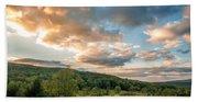 West Virginia Sunset Beach Towel
