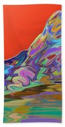 Western Glow Beach Towel