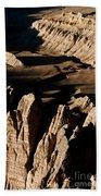 Western Tibet Geology Beach Towel
