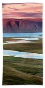 Westfjords Beach Towel