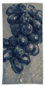 Wet Grapes Five Beach Towel