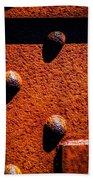 Wet Rivets  Beach Towel by Bob Orsillo