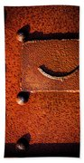 Wet Rivets Number Nine Beach Towel
