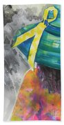 What Lies Ahead Series....chaos  Beach Towel by Chrisann Ellis