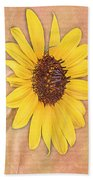 What Sunflowers Do Beach Towel