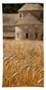 Wheat At The Abbaye Beach Towel