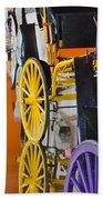 Wheel Colors Beach Towel