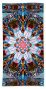 Wheel Kaleidoscope Beach Towel