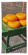Wheels Of Dutch Gouda Cheese Beach Sheet