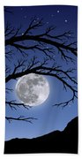 When The Moon Hits Your Eye Beach Towel