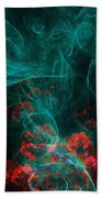 When The Smoke Clears They Bloom Beach Towel