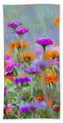 Where Have All The Flowers Gone Beach Towel