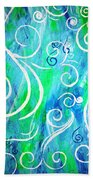 Whimsical By Jan Marvin Beach Towel