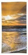 Whipped Cream Beach Sheet