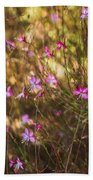 Whirling Butterfly Bush Beach Towel