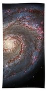 Whirlpool Galaxy 2 Beach Towel by Jennifer Rondinelli Reilly - Fine Art Photography