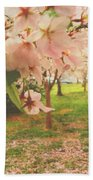 Whispering Cherry Blossoms Beach Towel