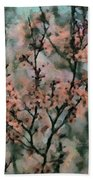 Whispering Cherry Blossoms Beach Towel by Janice MacLellan