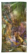Whispering Waters - Square Version Beach Towel