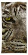 White Bengal Beach Towel