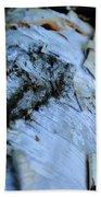 White Birch Log Beach Towel