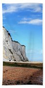 White Cliffs Of Dover Beach Towel