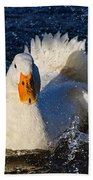 White Duck 1 Beach Towel