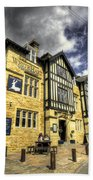 White Hart At Todmorden  Beach Towel