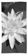 White Lotus 2 Beach Towel