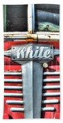 White Motor Company Highway Post Office U. S. Mail No 1 Beach Towel