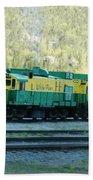 White Pass Railroad 2 Beach Towel