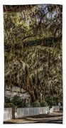 White Picket Fences Beach Towel